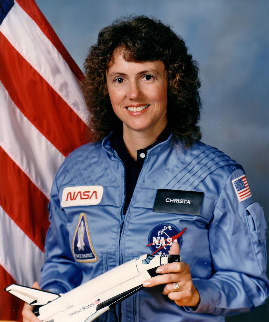 Astronaut S. Christa Corrigan McAuliffe