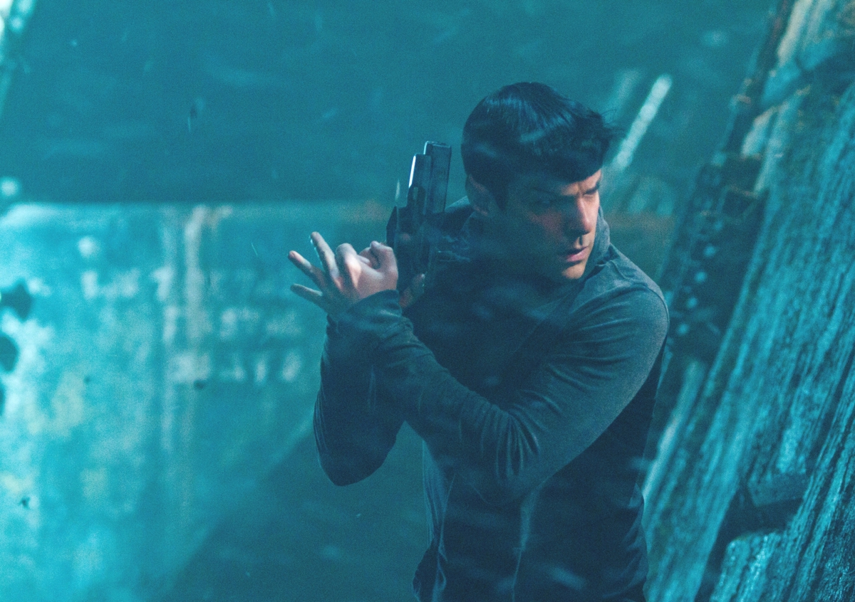 Spock vs. Spock! Leonard Nimoy & Zachary Quinto Face Off in Hilarious Ad (Video)