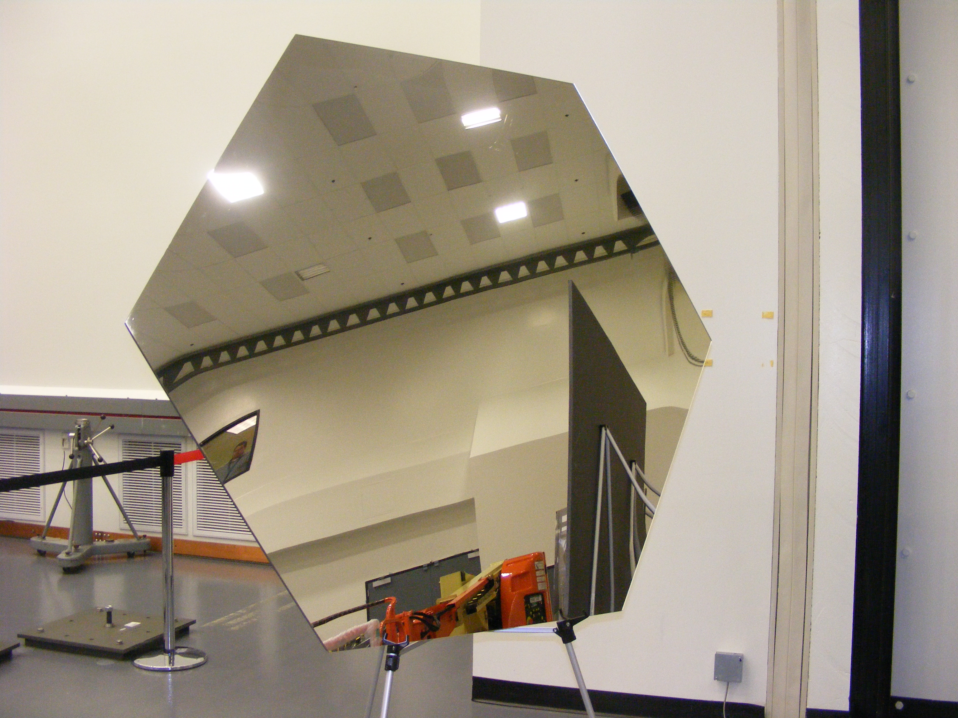 One of the 18 JWST Mirrors