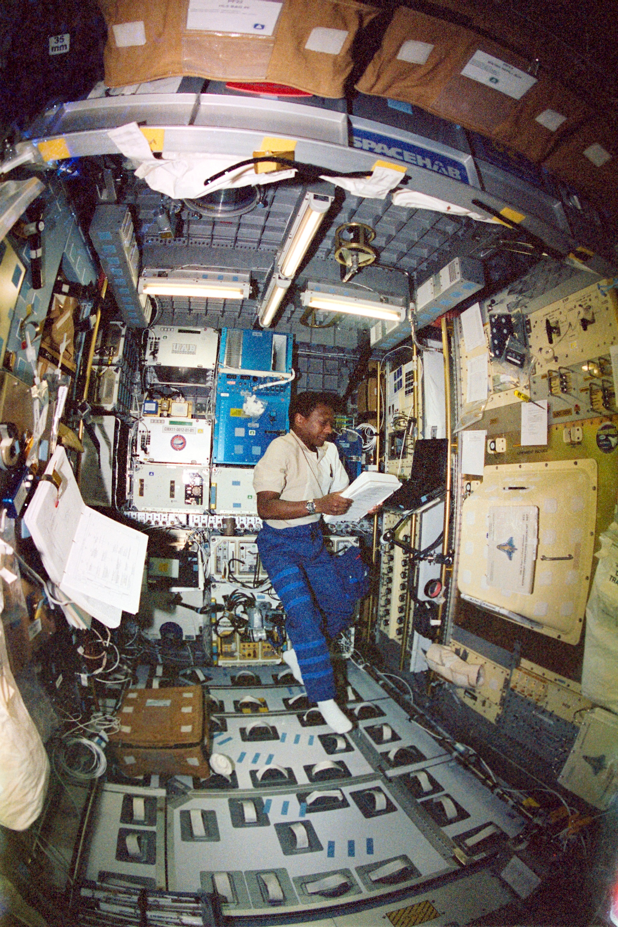 Astronaut Michael P. Anderson on STS-107