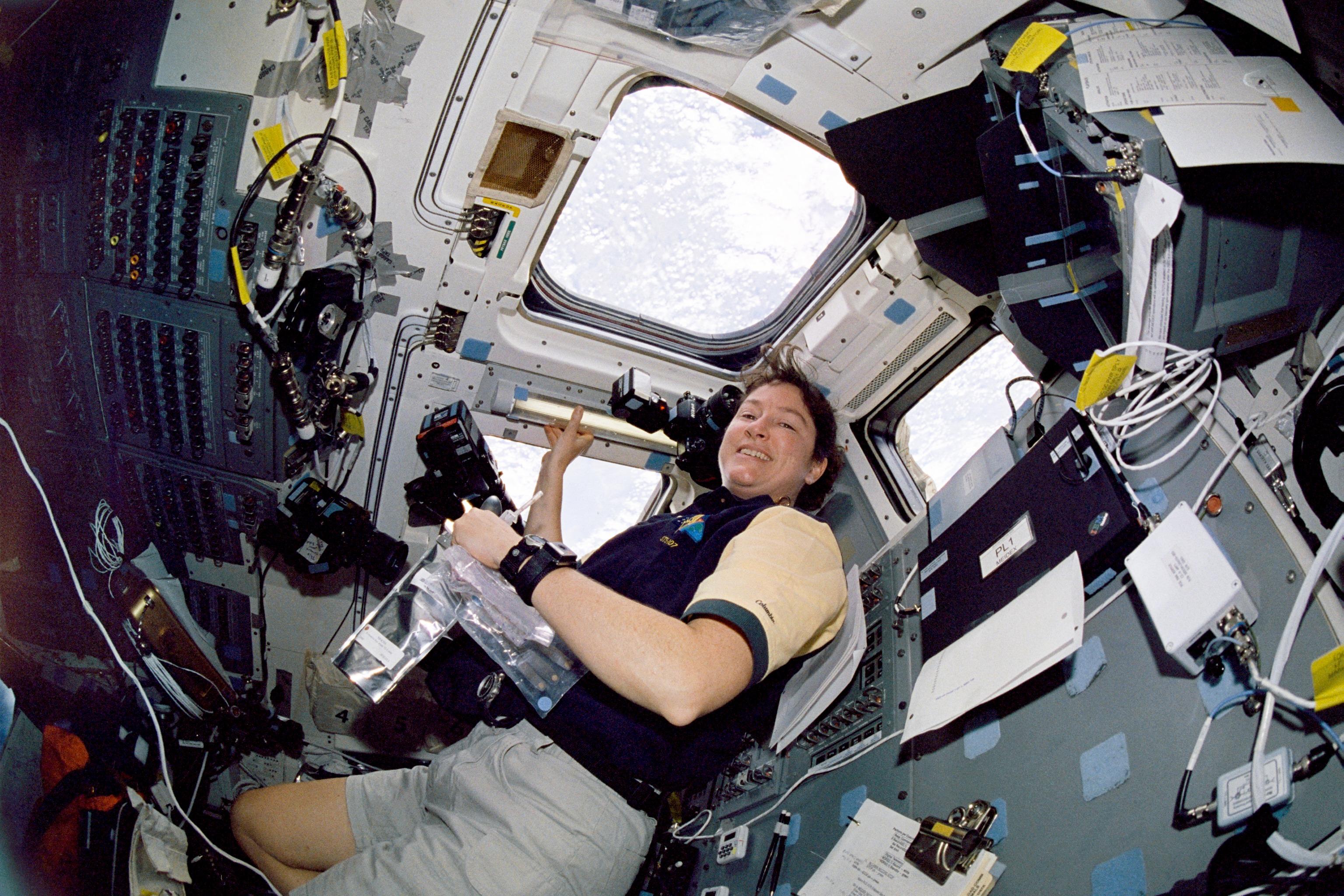 Astronaut Laurel Clark, STS-107 Mission Specialist
