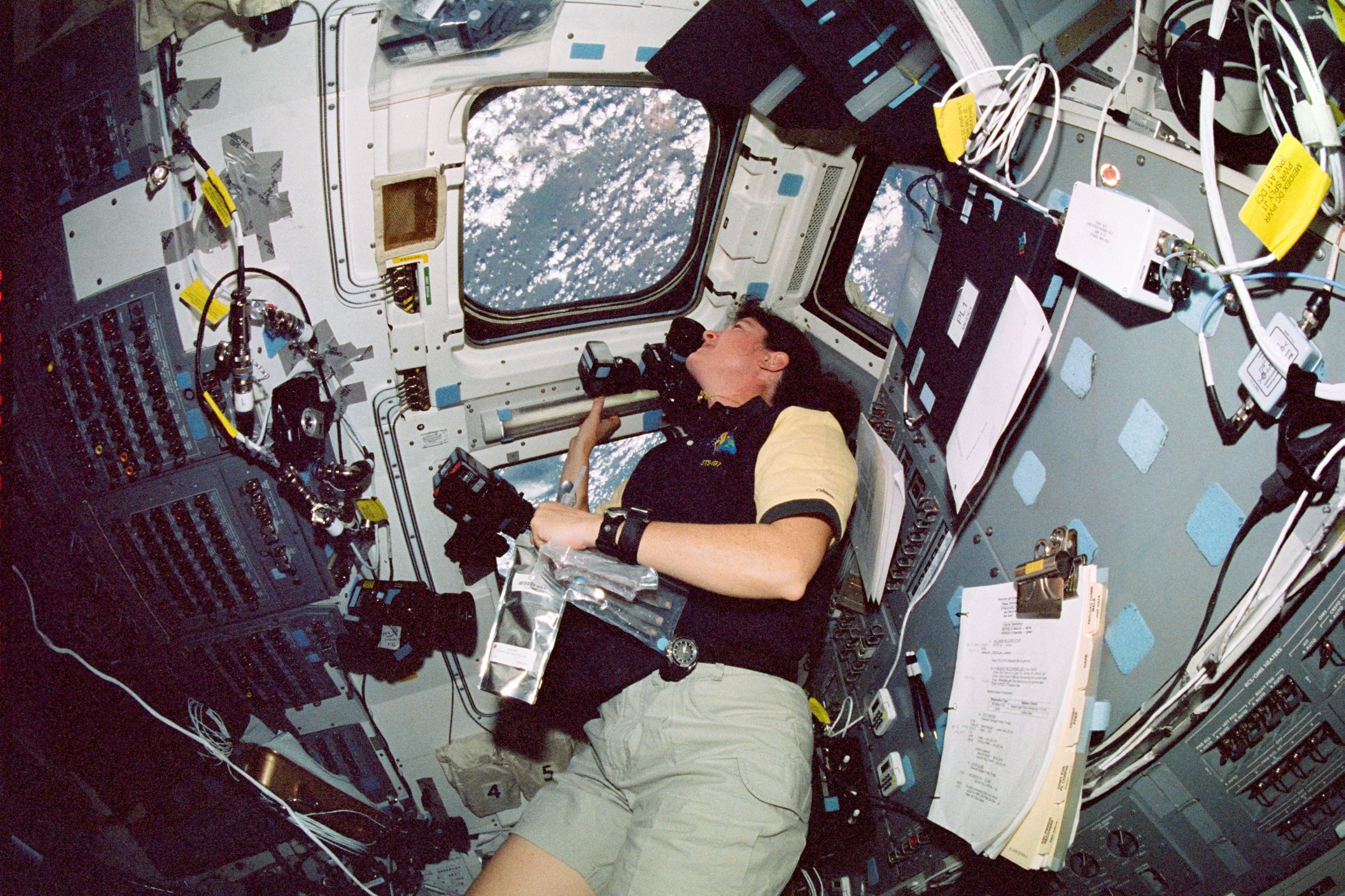 columbia's final mission Video and audio inside mission control during the reentry of space shuttle columbia on sts-107 listen and watch the flight director and controllers as columbia makes its final, ill-fated landing.