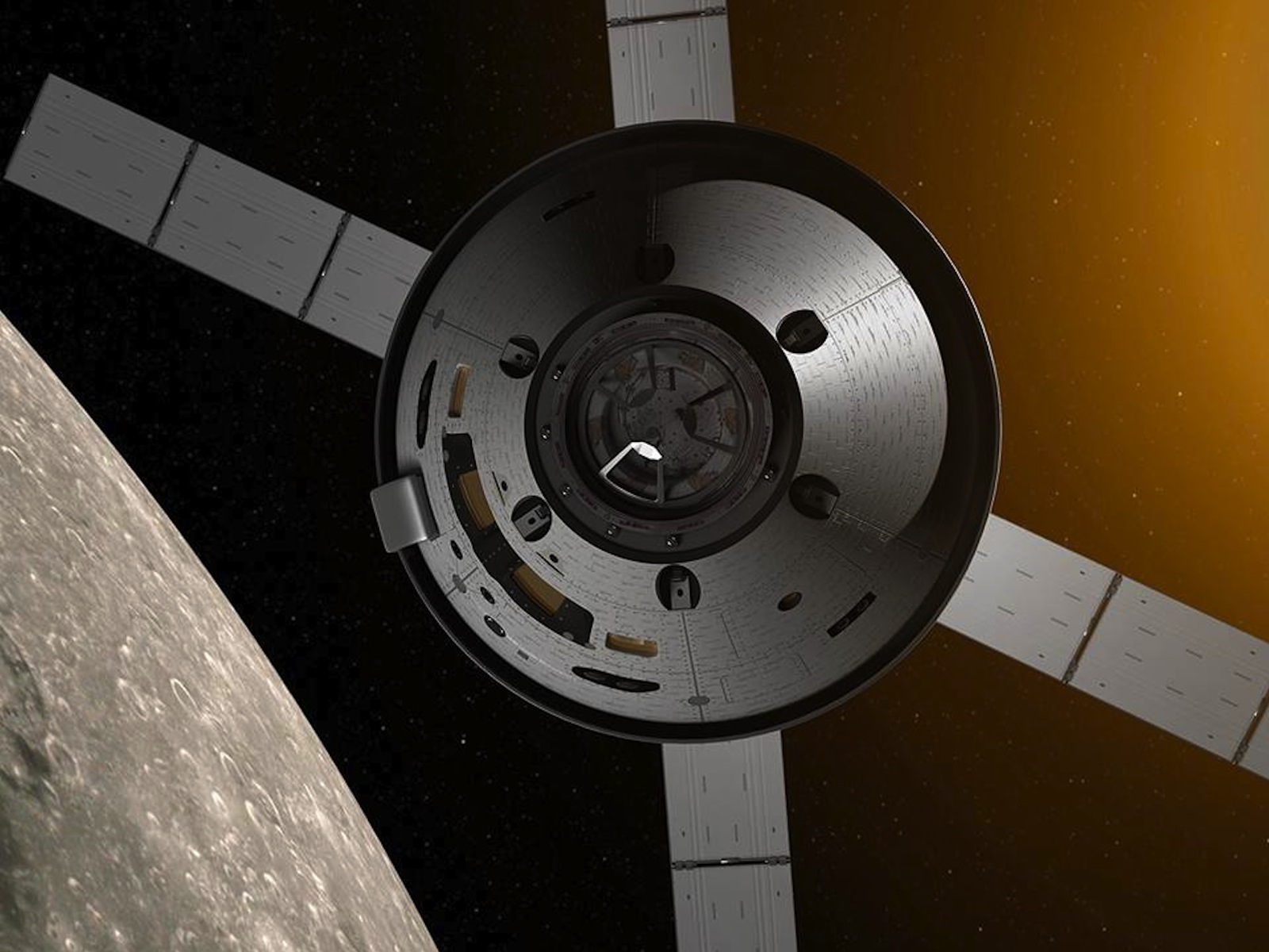 Orion Spacecraft Space Wallpaper