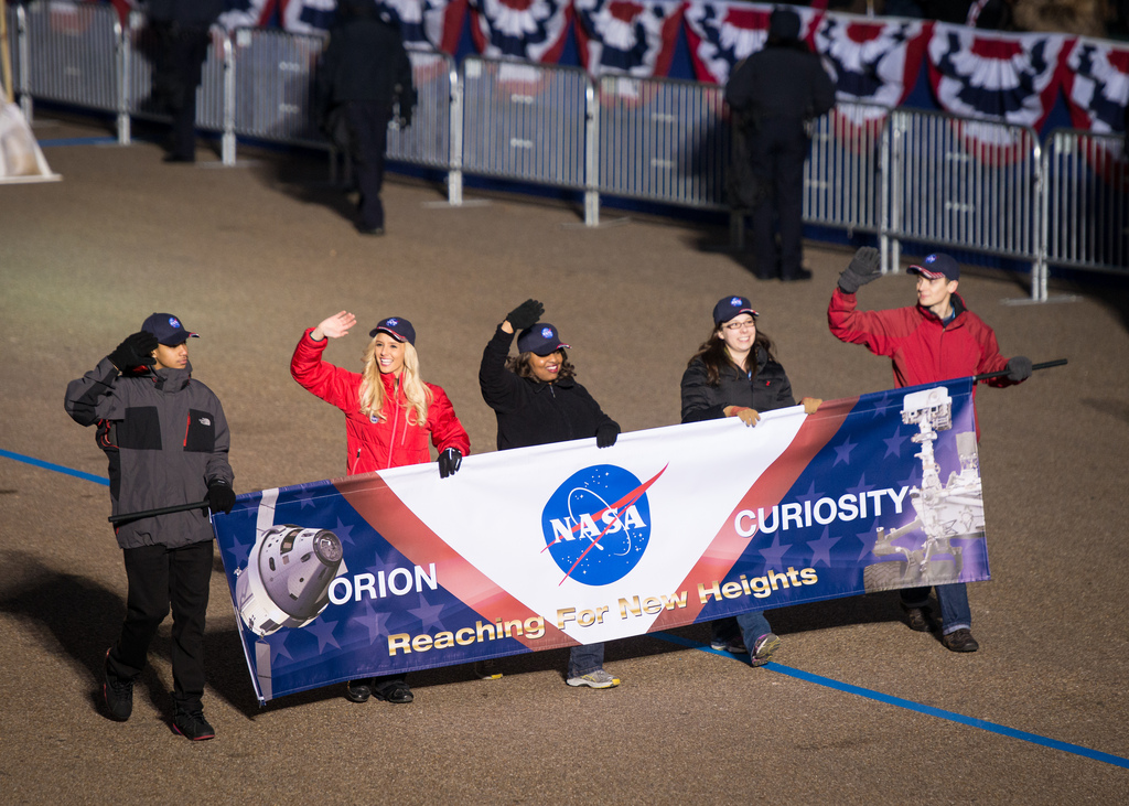 NASA at 2013 Inaugural Parade