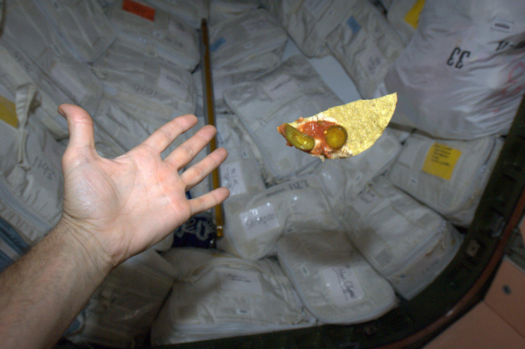 Commander Hadfield's Space Nachos