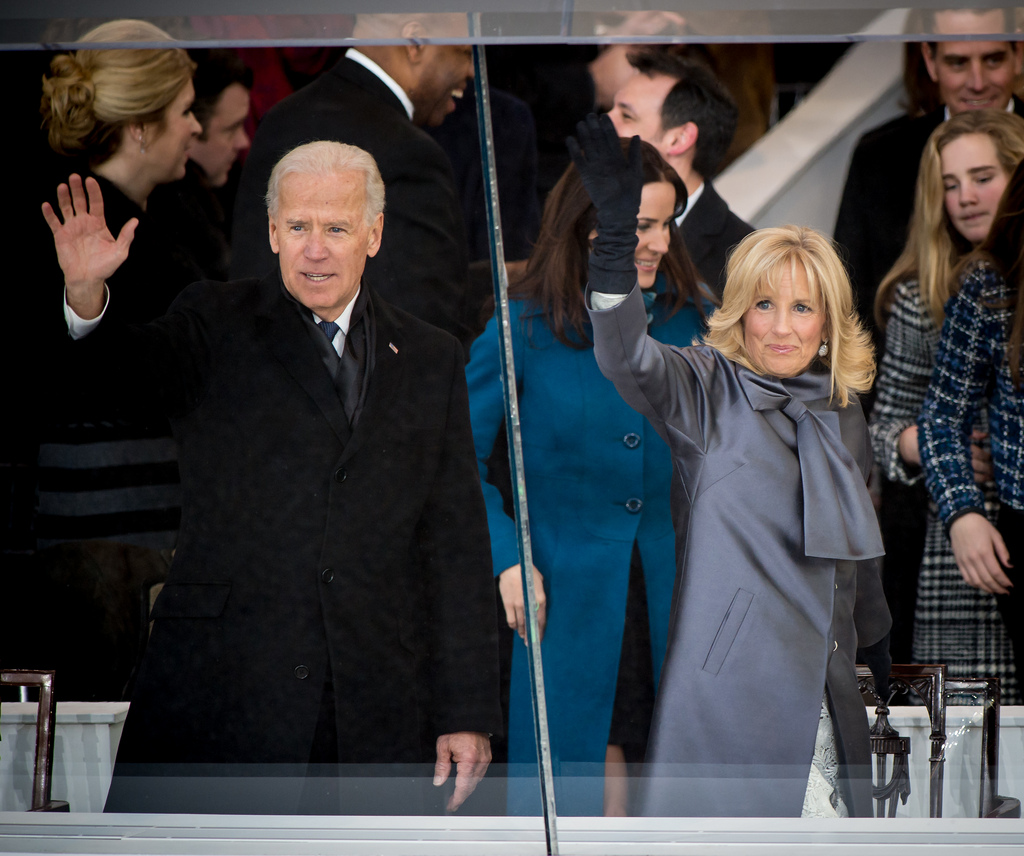 Vice President Biden at 2013 Inaugural Parade