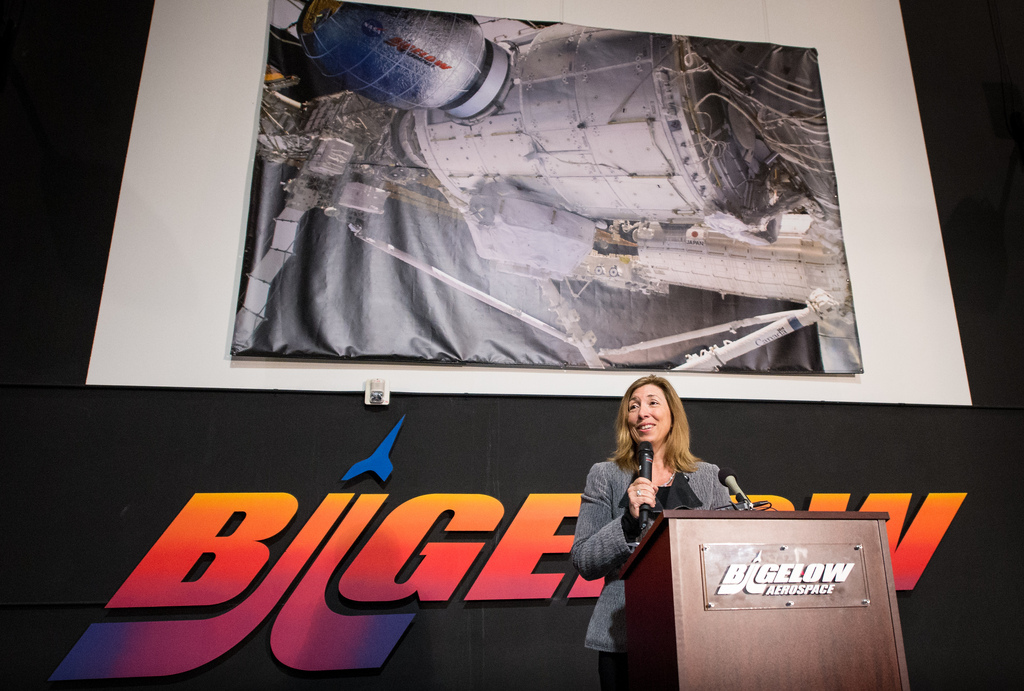 NASA Deputy Administrator Lori Garver Speaks at Vegas Convention
