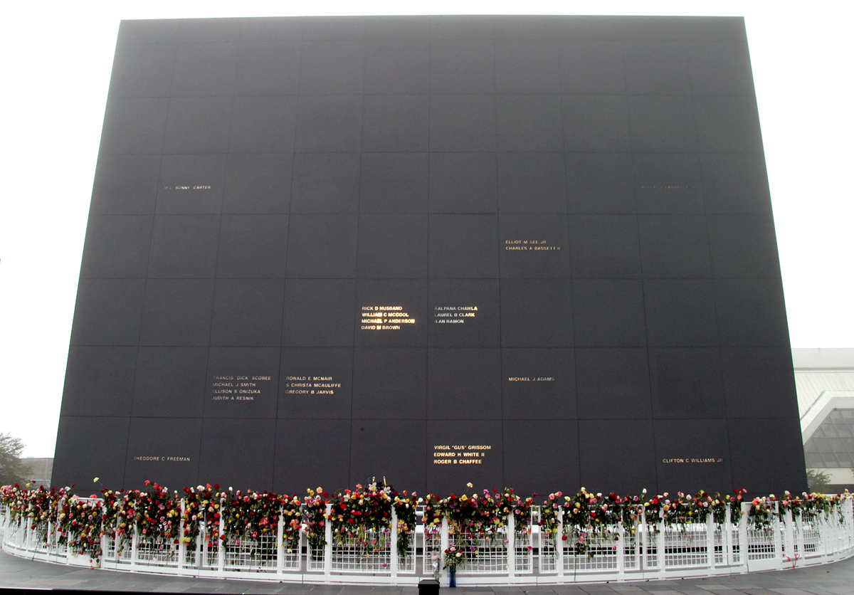 NASA's Space Mirror Memorial