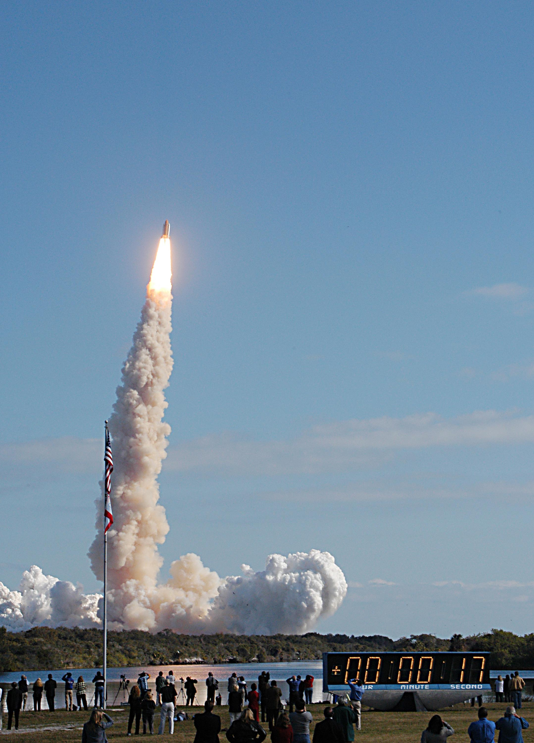 Shuttle Columbia Lifts Off: STS-107