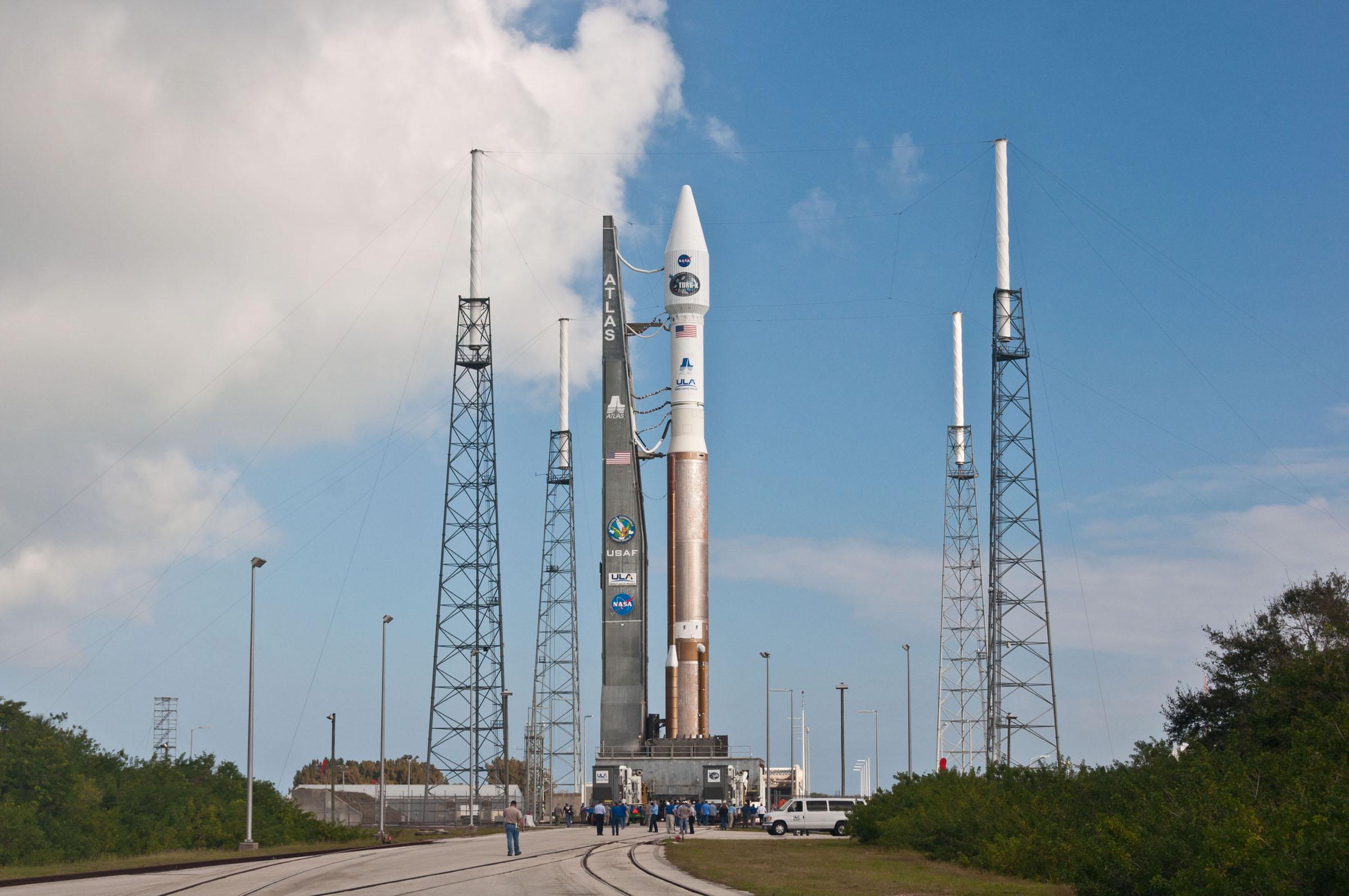 Atlas V Rocket Rollout