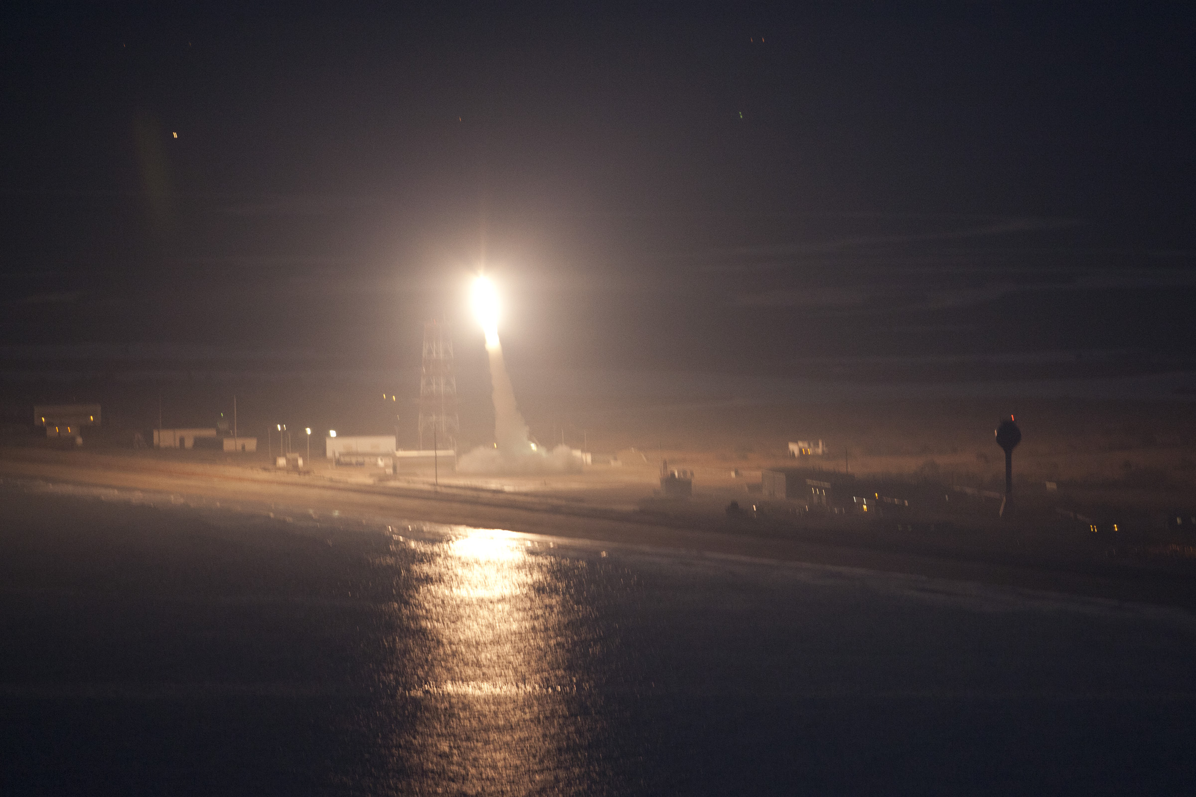 Water and Space: NASA Sounding Rocket Launch