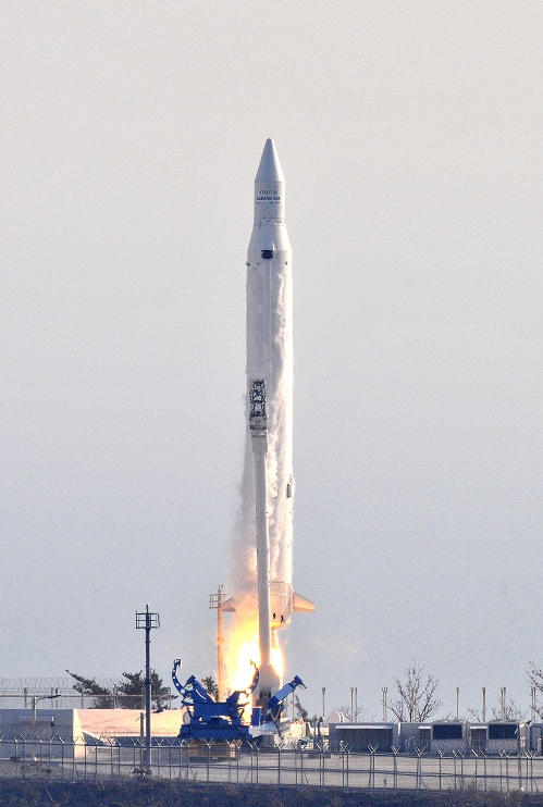 South Korea's Naro Rocket Launch