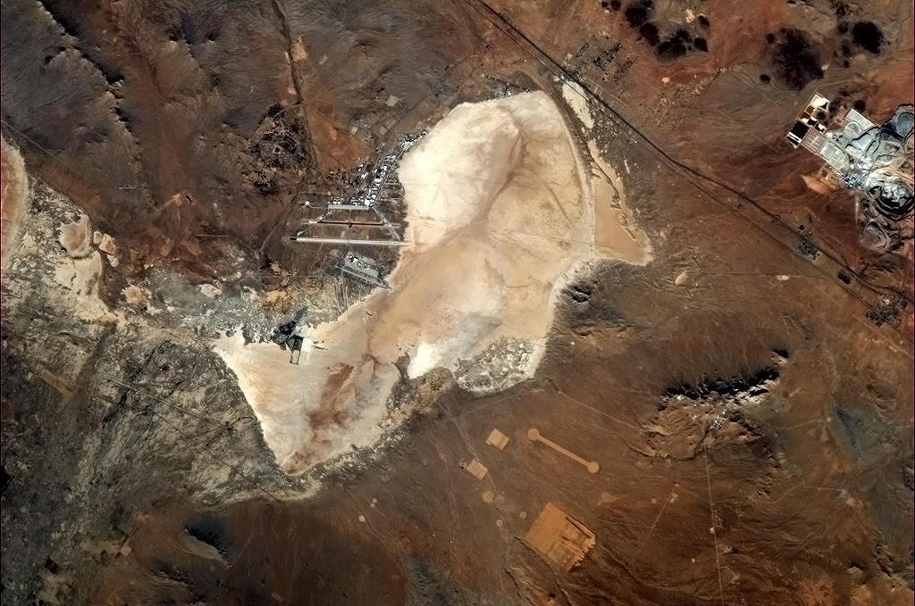 Edwards Air Force Base From the ISS
