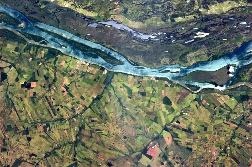 Blue River in Brazil