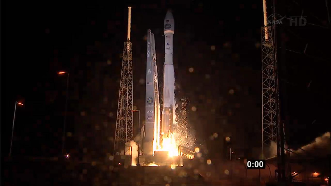 NASA's TDRS-K Satellite Blasts Off
