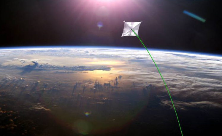 First Interstellar Spacecraft May Use Texas-Size Solar Sail
