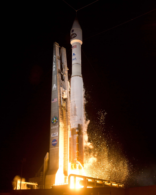 ULA Atlas 5 Rocket Launches TDRS-K Satellite