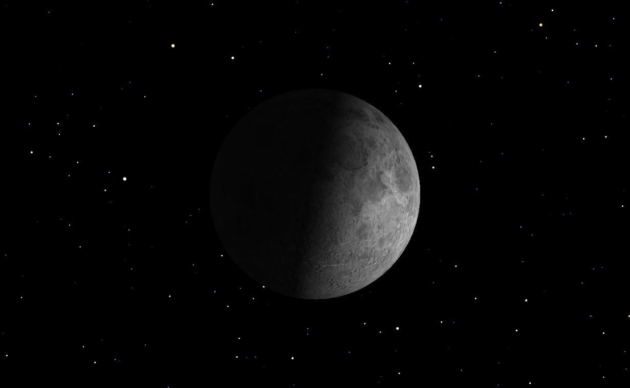 First Quarter Moon, February 2013