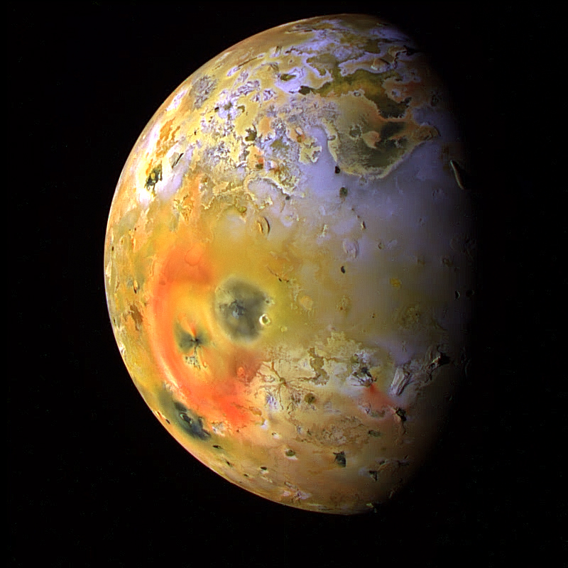 Jupiter's Amazing Moon Io