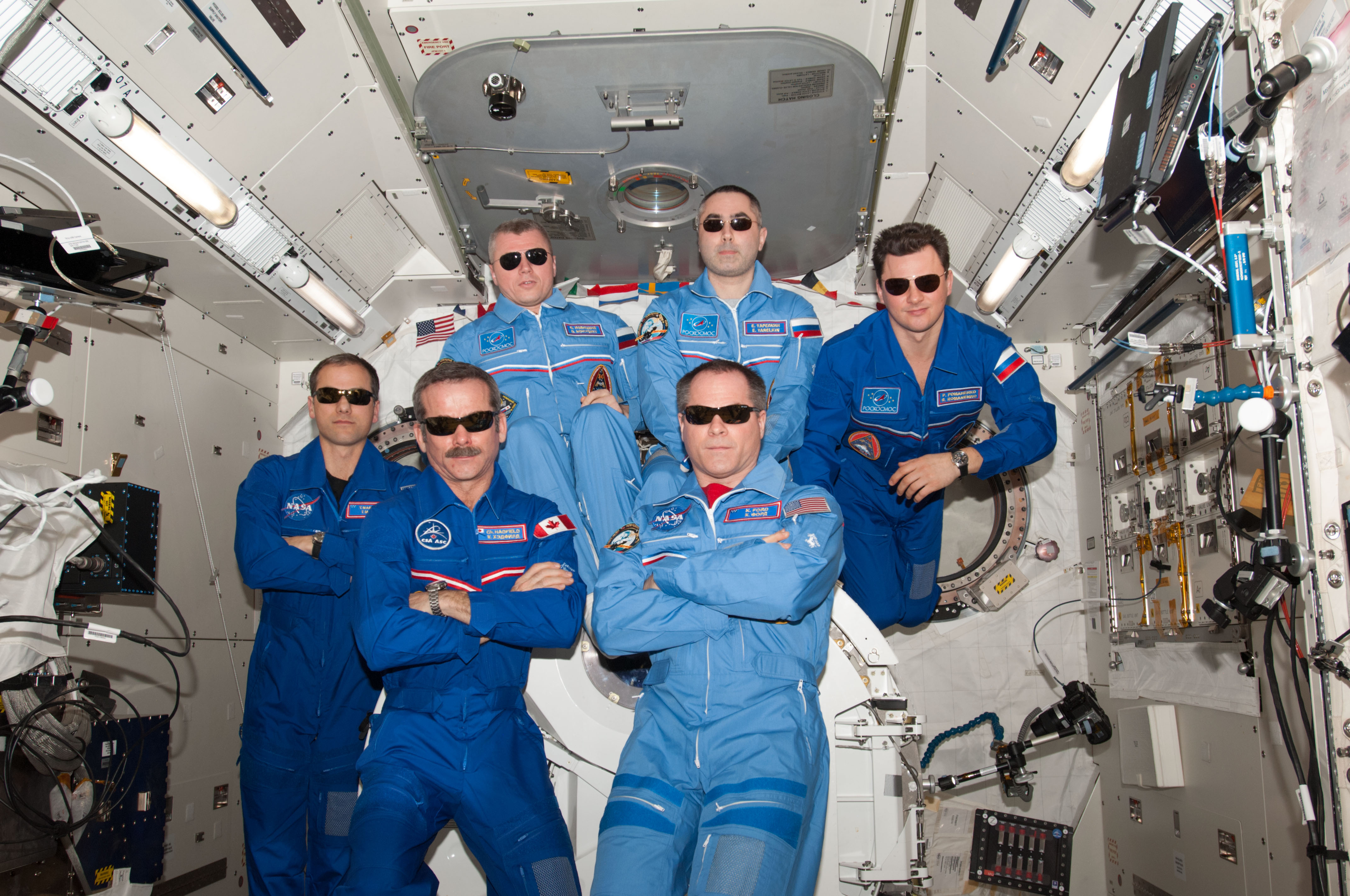 Space Station's Cool Expedition 34 Crew