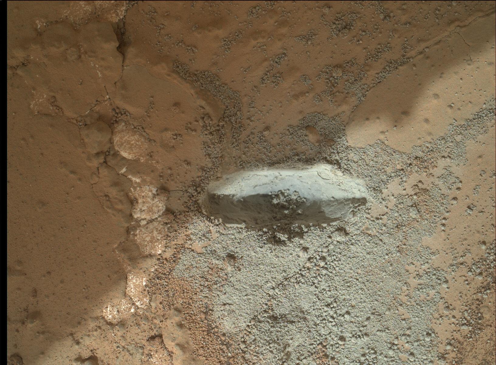 NASA's Curiosity Rover Hammers Into 1st Mars Rock