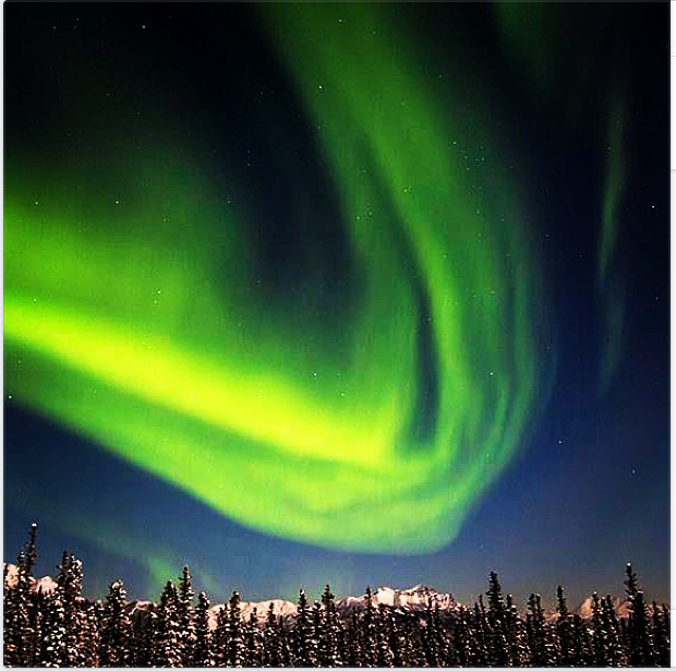 Photo: Northern Lights Dance Over Denali