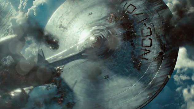 Starship Enterprise Gets Thrashed in 'Star Trek Into Darkness' Trailer