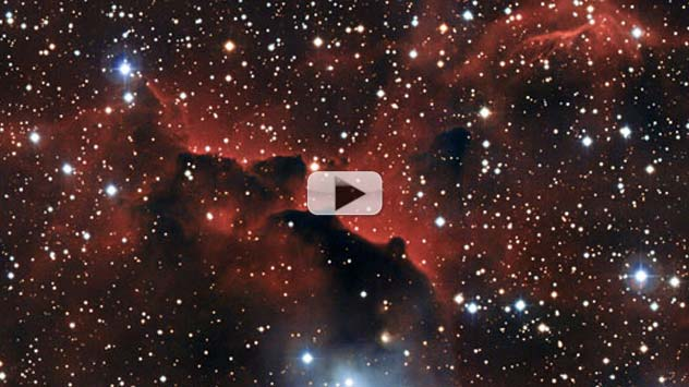 Seagull Nebula's Wings Set Aflame by Ultraviolet Radiation | Video