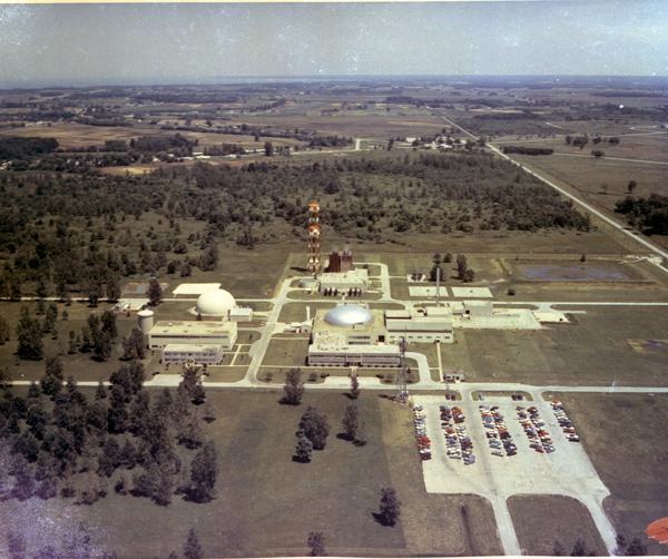 Space History Photo: Plum Brook Reactor's Research Facilities and Support Buildings