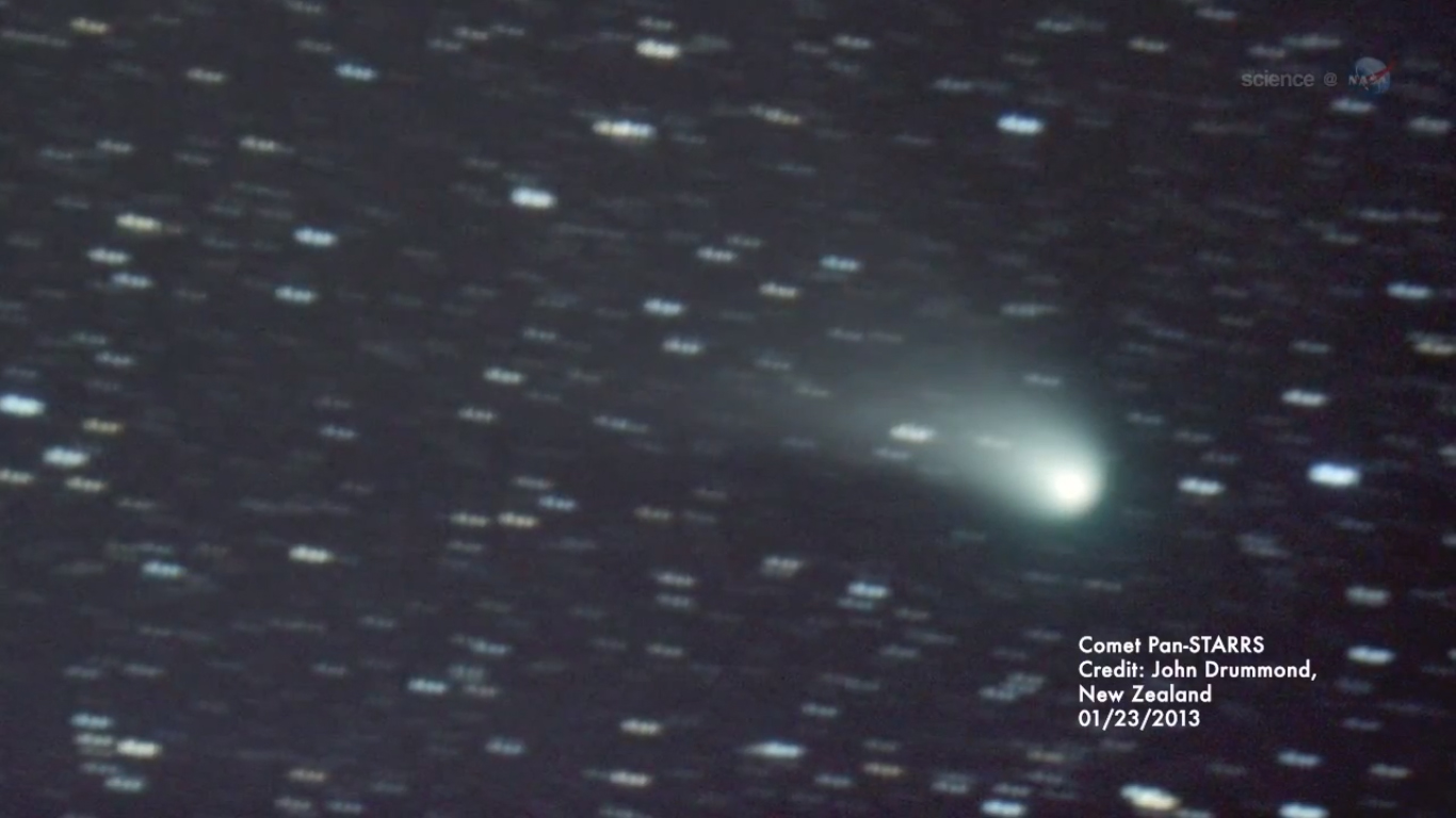 Comet Pan-STARRS Photo by John Drummond: January 2013