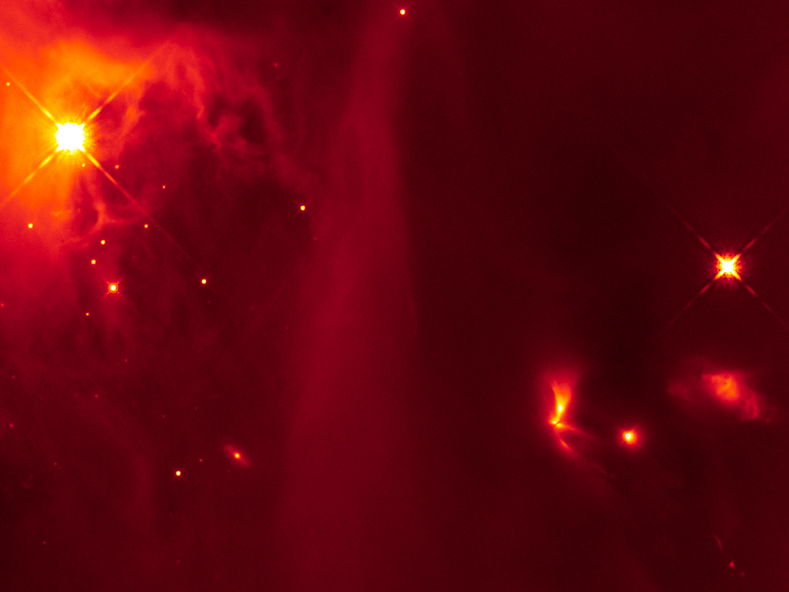 Strobe Flashes From a Young Star