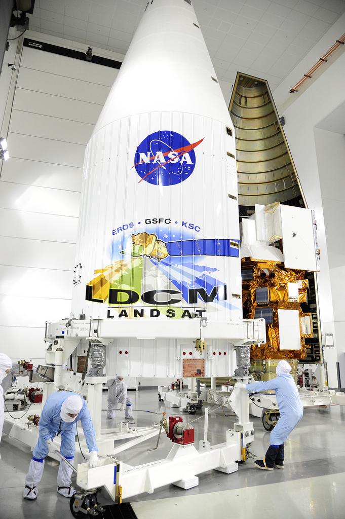 Fairing Encloses Spacecraft
