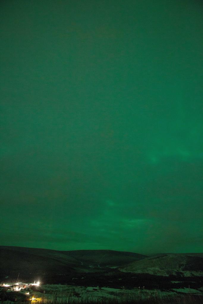 A Green Aurora