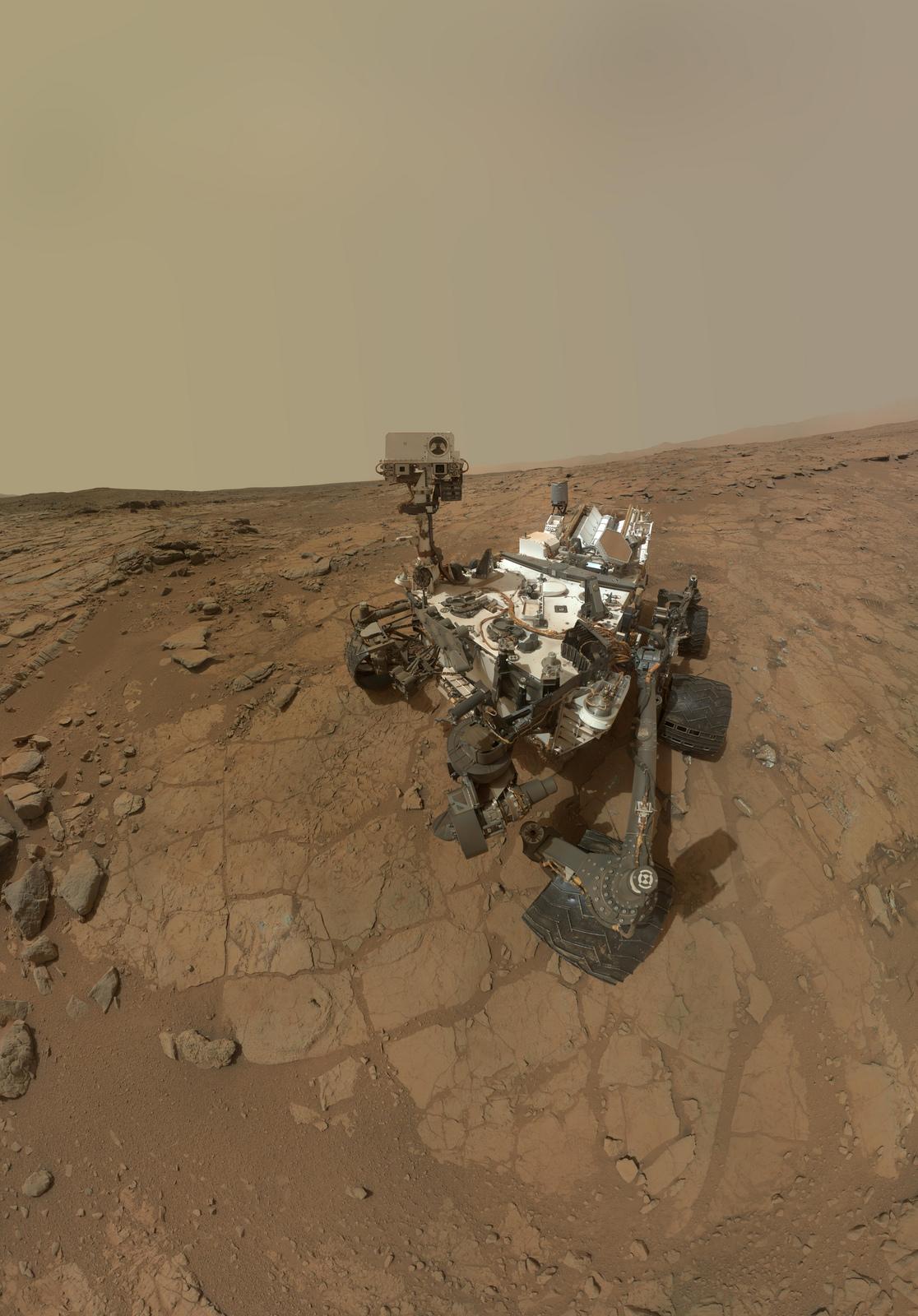 Mars Rover Curiosity Portrait: John Klein Site