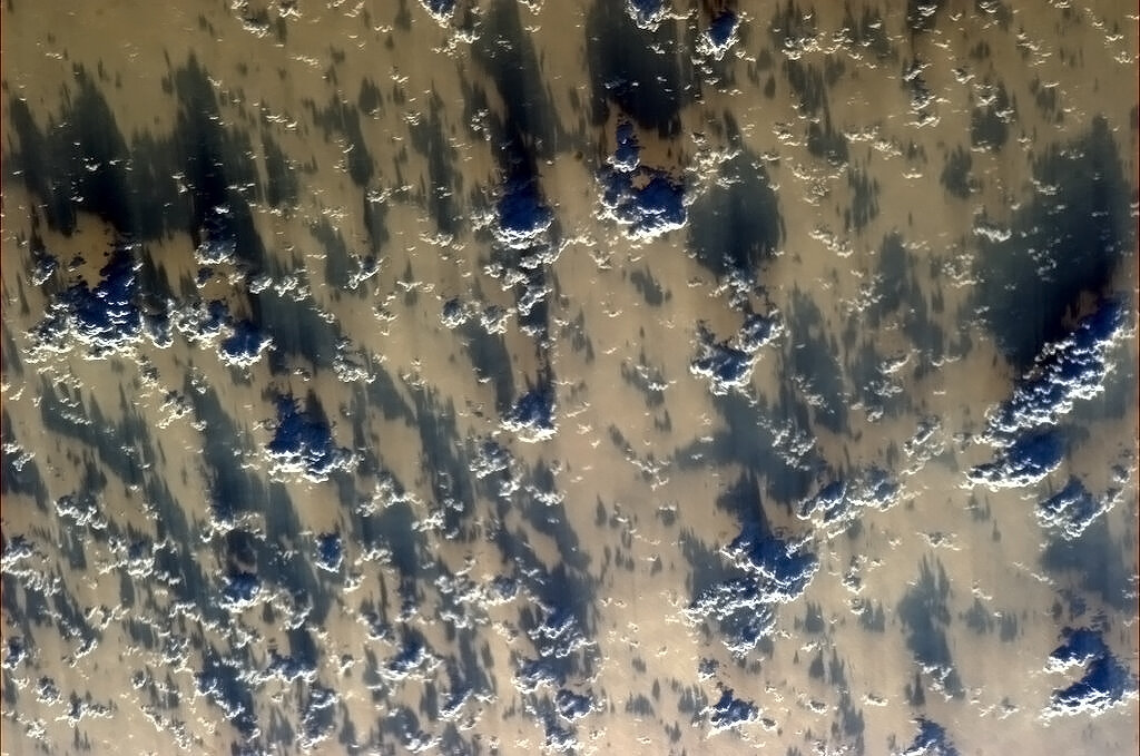 China and Amazing Clouds: Chris Hadfield