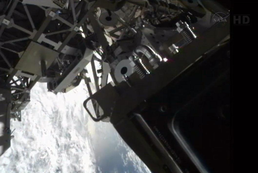Progress 50 Supply Ship Docks to ISS