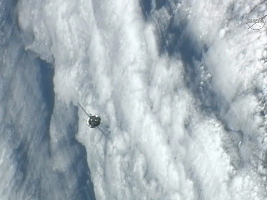 Progress 50 Supply Ship Approaches ISS
