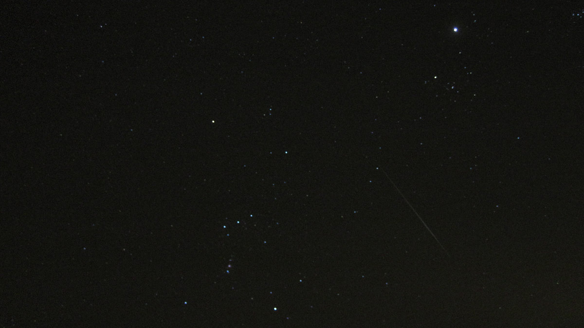 Gemind Meteor Over Mastic Beach, NY