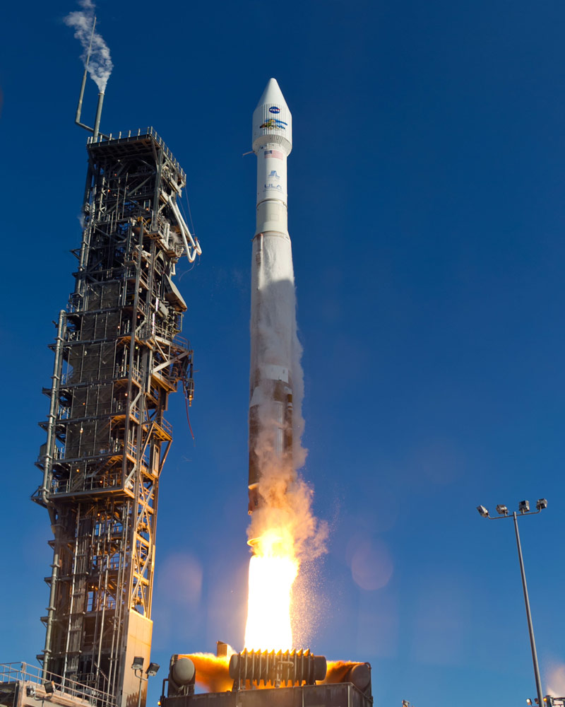 Atlas 5 Rocket With Landsat Payload Launches