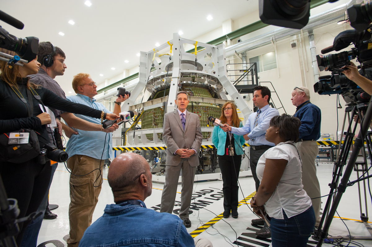 NASA's New Spaceship Tech Could Help Take Astronauts to Mars