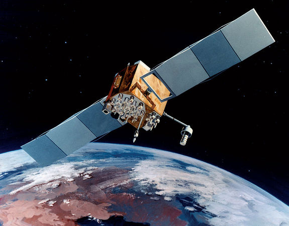 Navstar-2F satellite of the Global Positioning System (GPS)