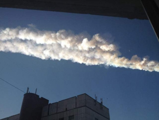 Meteor Streaks Over Russia, Explodes (Photos)