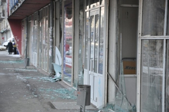 Windows Shattered by Meteor: Feb. 15, 2013