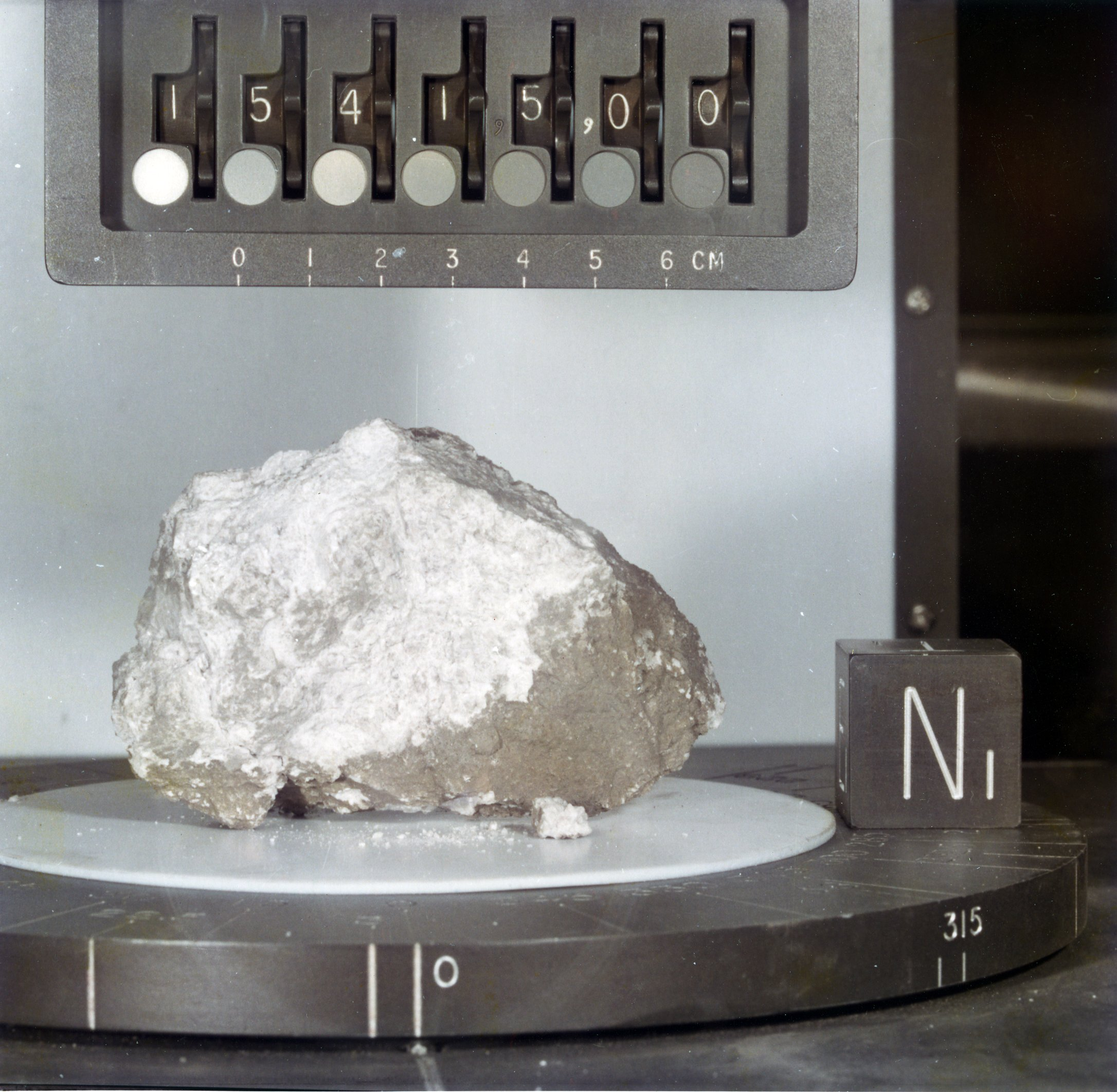 Apollo Moon Rocks Challenge Lunar Water Theory