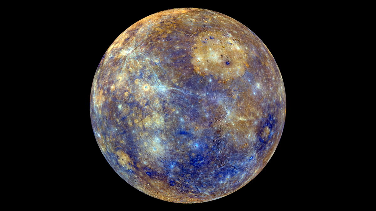 Photos of Mercury from NASA's Messenger Spacecraft