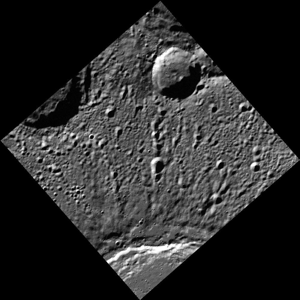 Stieglitz Crater on Mercury