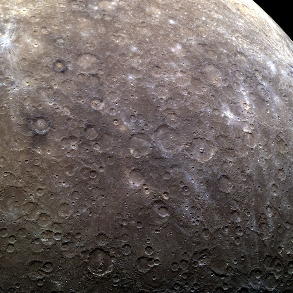 Mercury's Southern Hemisphere