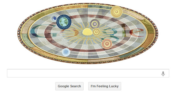 Google Doodle Honors 16th Century Astronomer Nicolaus Copernicus