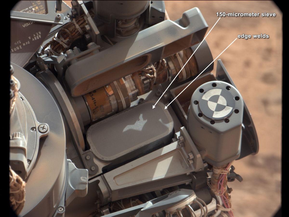 curiosity rover scoop - photo #24