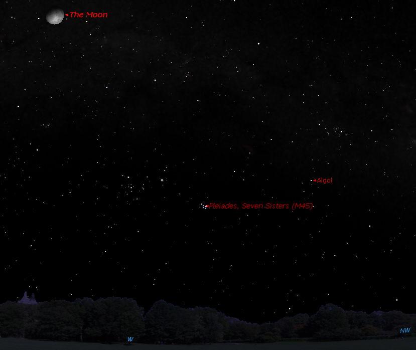 'Demon Star' Glowers in Night Sky This Week